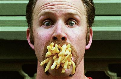 Morgan Spurlock's Supersize Me experiment pales into insignificance against one man's six-month junk food binge