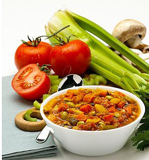 Will a vegetable soup diet help me lose weight?