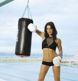 Fighting Fit:: The Biggest Loser's Jillian Michaels calls herself  America's toughest trainer. Who'd dare argue?