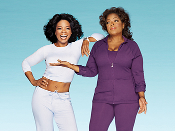 Oprah's no stranger to yo-yo diets, but imagine anyone having the nerve to tell her to go on diet