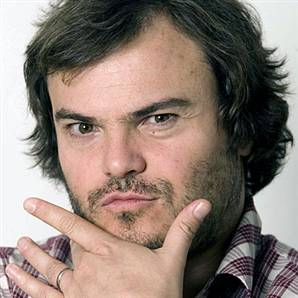 Jack Black - overweight but loveable