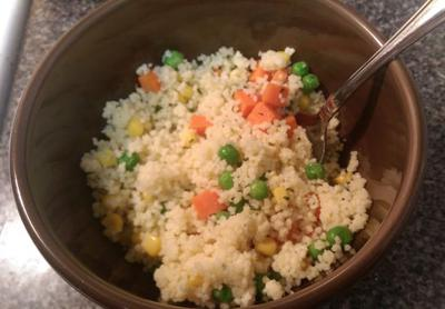 Couscous w/ veggies